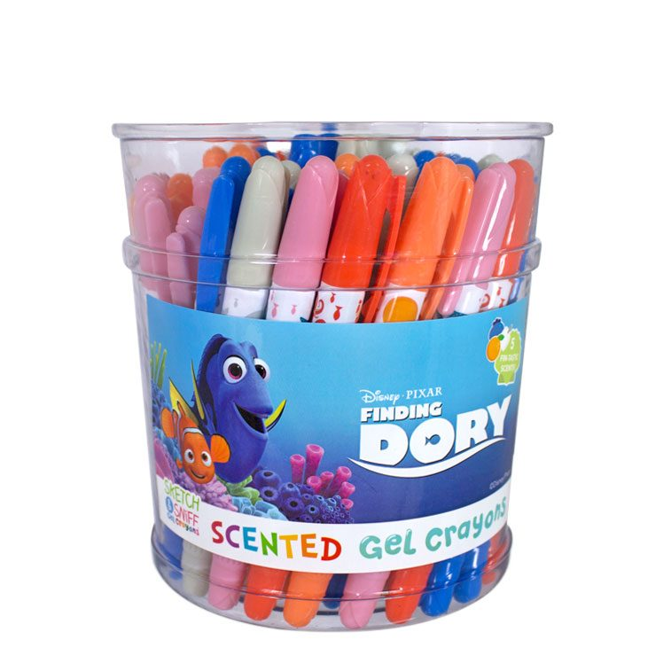 Finding Dory Gel Crayons