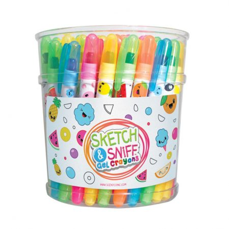 Gel Crayons Bucket