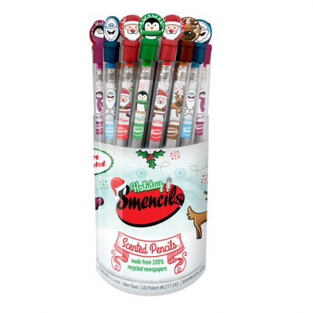 Holiday Smencils Bucket