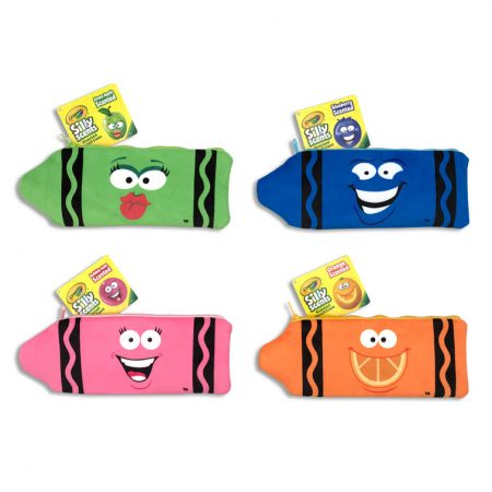 Crayola Plush Pencil Pouches Case